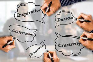 wees creatief bij beeldbellen